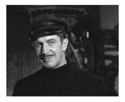 Vincent Price as Gilbert De Quincey