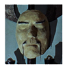 Fu Manchu death mask
